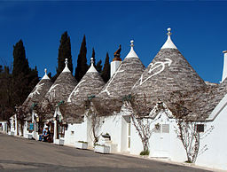 Traditional trulli, Alberobello