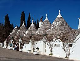 Traditional trulli, Alberobello