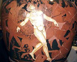 Vase of Talos, 400 BC, Jatta Museum, Ruvo