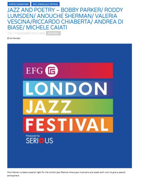 london-jazz-festival