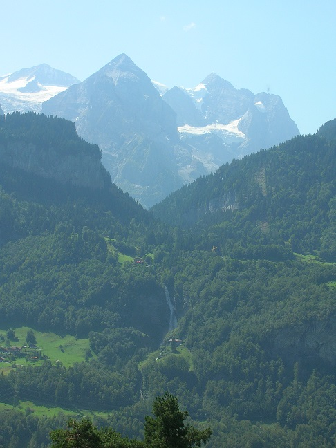 Rosenlaui, with Reichenbach Falls
