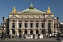 South façade of the Opéra Garnier in Paris, France