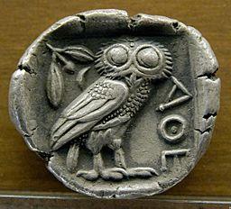 Tetradrachm Athens, 480-420 BC