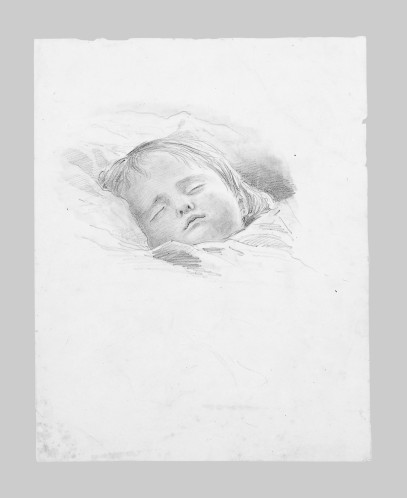 Sleeping Child by John Singer Sargent, The Met, Public Domain 50-130-141y