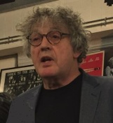 Paul Muldoon at book launch, July 2017