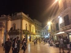 A square in Martina Franca