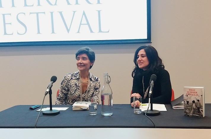 Valeria Vescina and Teresa Franco