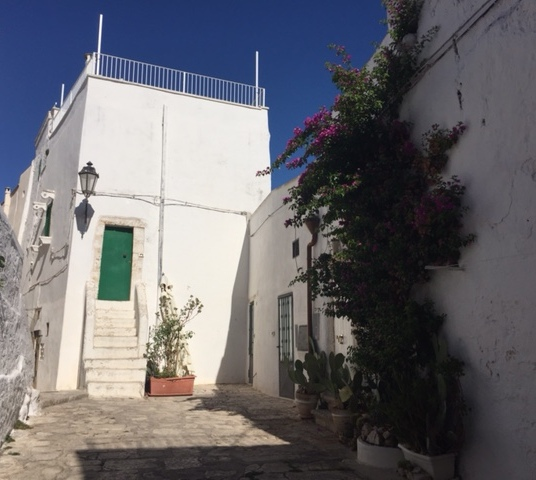 Ostuni - an alley