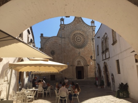 Ostuni - the Cathedral