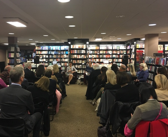 Launch of 'That Summer in Puglia' at Waterstones, Kensington