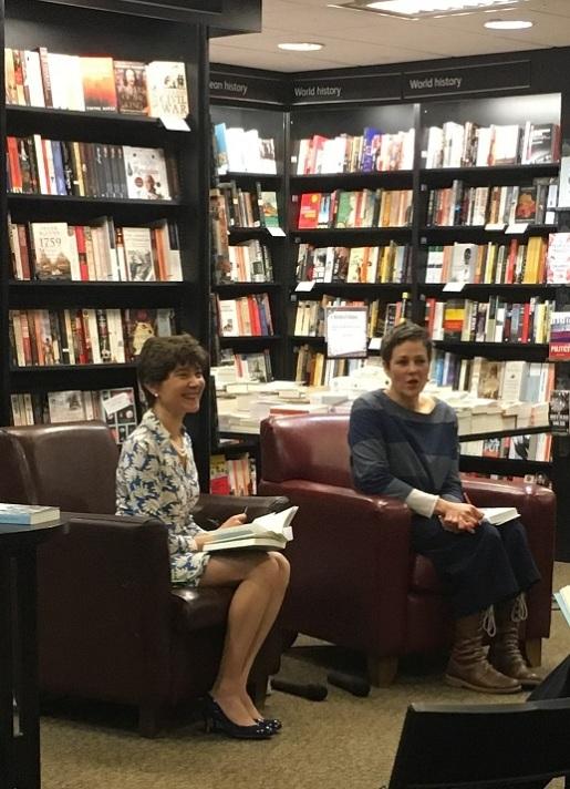 Valeria Vescina and Rachel Seiffert in conversation