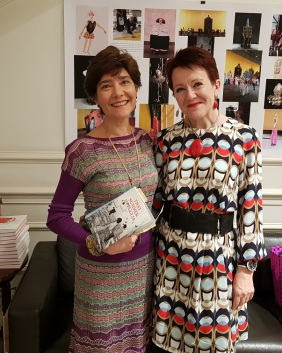 Italian Cultural Institute launch - Valeria Vescina and Rosie Goldsmith