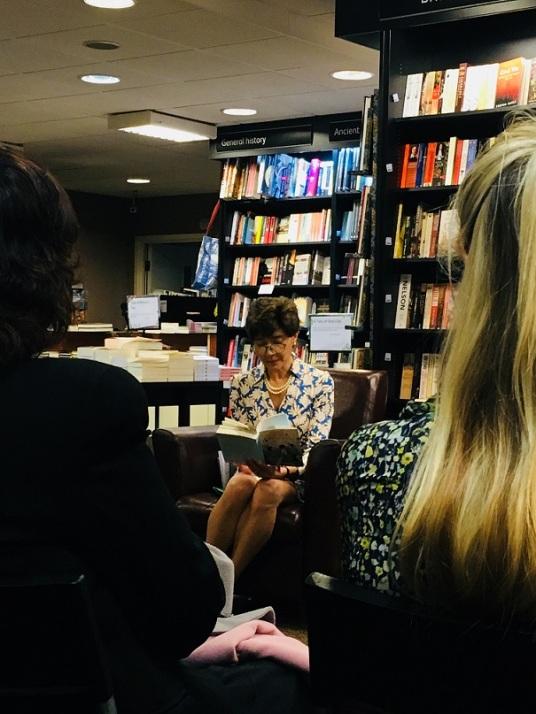 Valeria Vescina reading from 'That Summer in Puglia'
