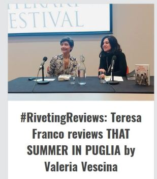 Teresa Franco's review of That Summer in Puglia for The European Literature Network