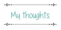 mythoughts
