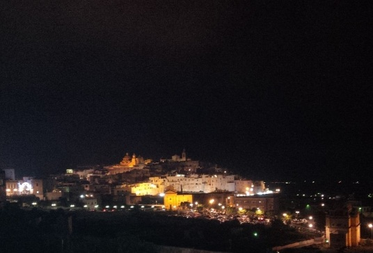 Ostuni by night