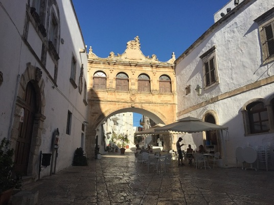 Ostuni - Cathedral Square