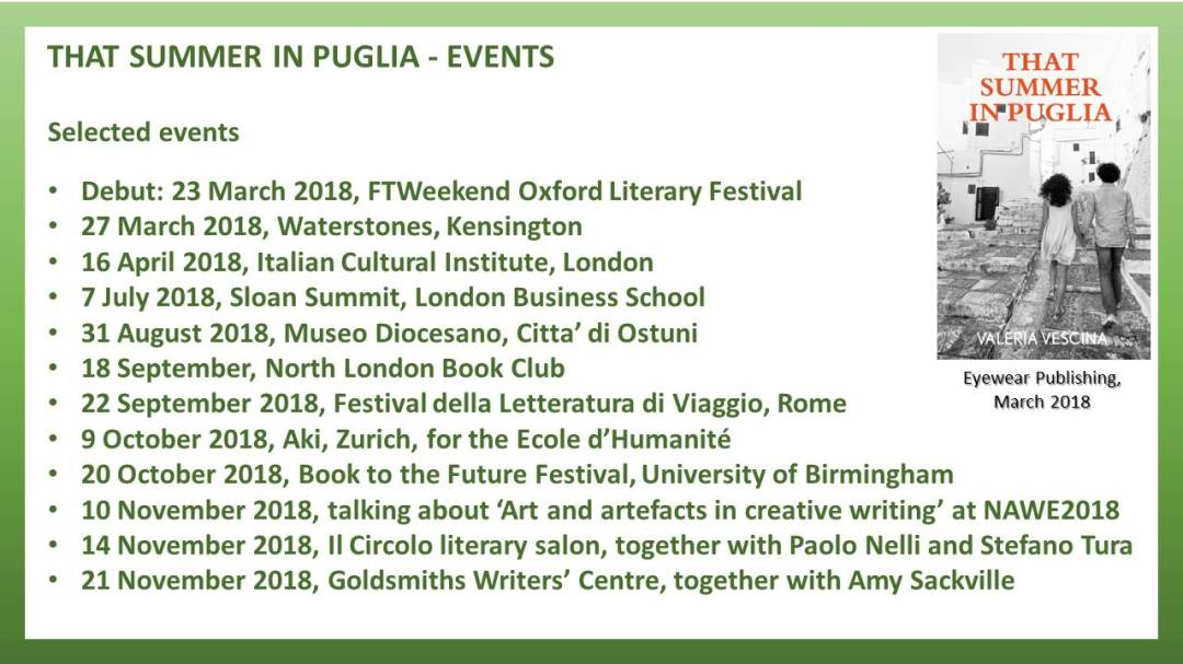 Events - That Summer in Puglia