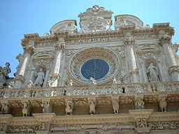 Lecce - Basilica of Santa Croce