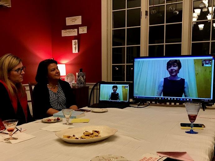 Book club in Harvard, MA - Skype conversation