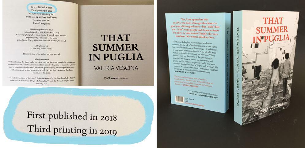 December 2019: third print run
